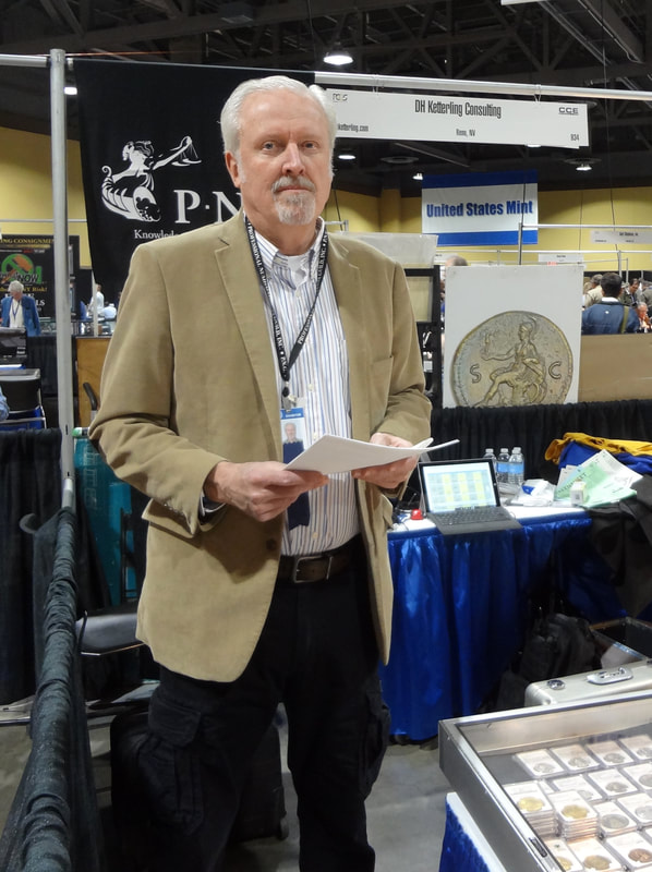 Don Ketterling has won numerous awards for service to the numismatic community, including this President's Award from the ANA.